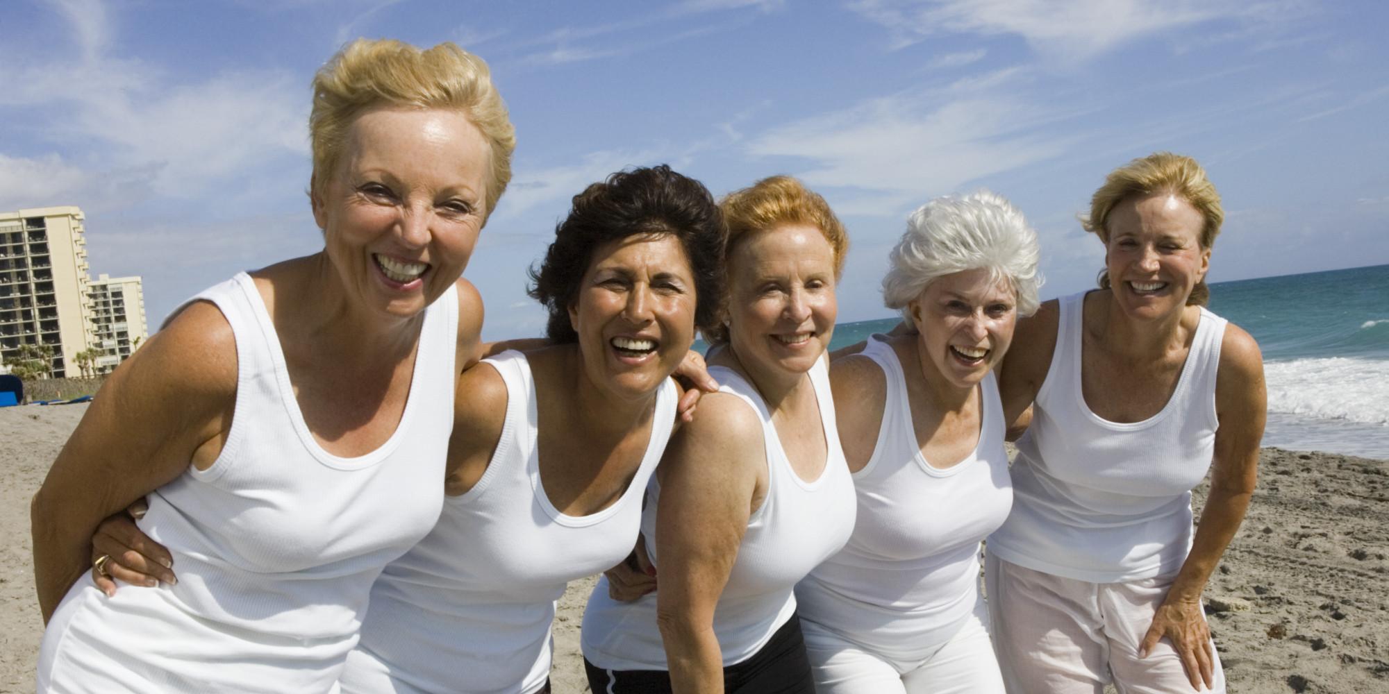 nude mature women in groups