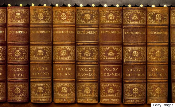 old text book encyclopedia