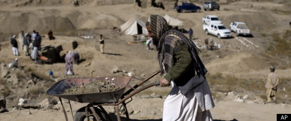 AFGHANISTAN GOLD INVESTMENT