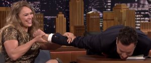 RONDA ROUSEY JIMMY FALLON