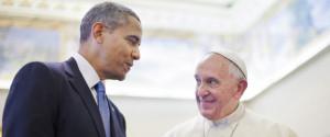 OBAMA POPE FRANCIS