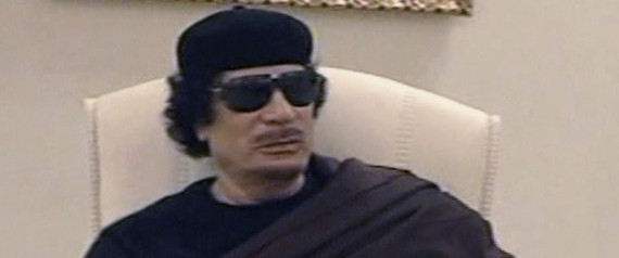 Gaddafi Compound Bombed