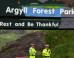 Coach Overturns Near Argyll, 30 Injured