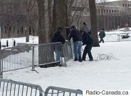 Des étudiants contre l'austérité prennent la direction de Québec