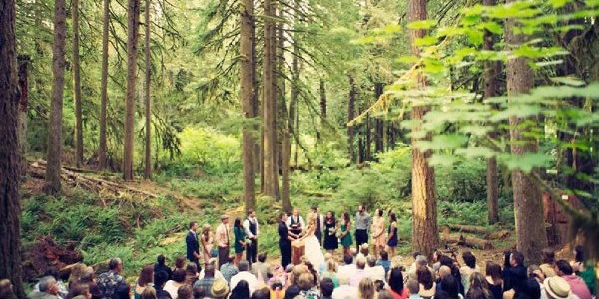 Outdoor Ceremony: 100 Beautiful Outdoor Spaces For The Wedding Ceremony Of