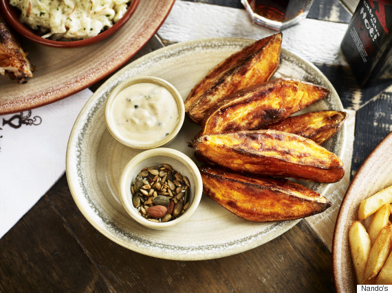 Nando's To Add Four New Dishes To Menu Including Sweet Potato Wedges ...