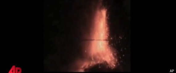 Mount Etna Eruption