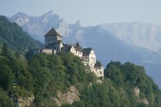 Schloss Vaduz in Liechtenstein | Bild: PA