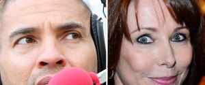 KAY BURLEY AND STAN COLLYMORE