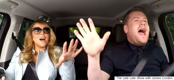 James Corden Got Mariah Carey To Sing Along To Her Own Songs In The Car