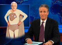 Jon Stewart Newt Gingrich