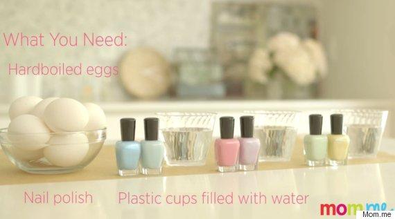 nail polish eggs 1