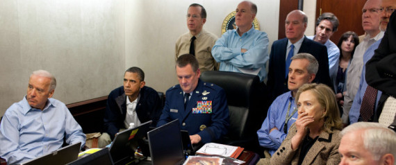 OBAMA SITUATION ROOM BIN LADEN