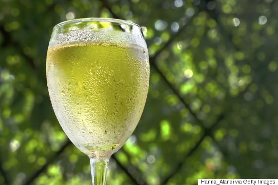 white wine chill