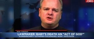 COLORADO LAWMAKER BABY DEATH GOD