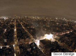 Drone Captures East Village Explosion Aftermath From The Sky