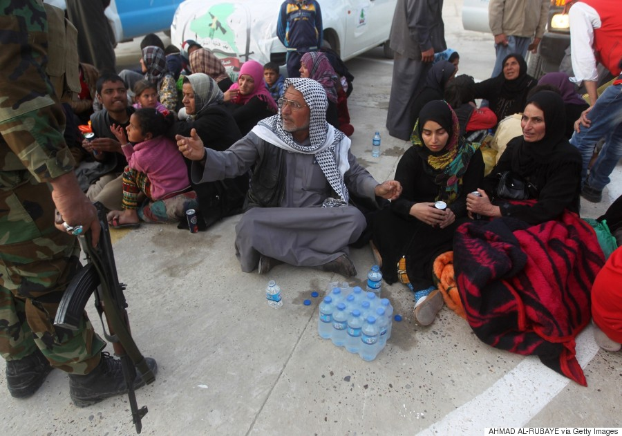 displaced sunni iraqis
