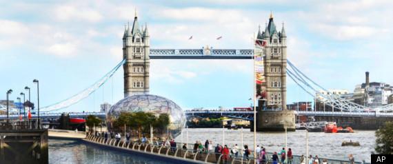 LONDON RIVER WALK