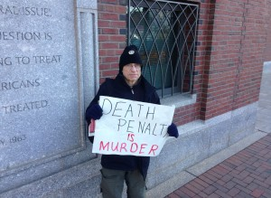 death penalty opponent