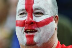 An England fan | Pic: PA