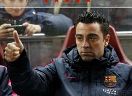 La 'rajada' de Xavi contra el Atlético de Madrid