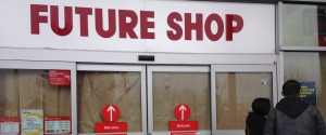 FUTURE SHOP CLOSURE