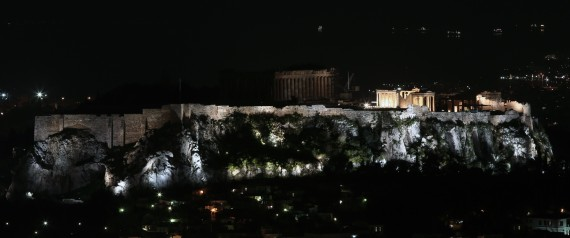 EARTH HOUR 2015 GREECE