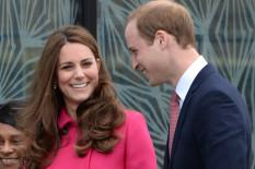 Herzogin Catherine und Prinz William   Bild: PA