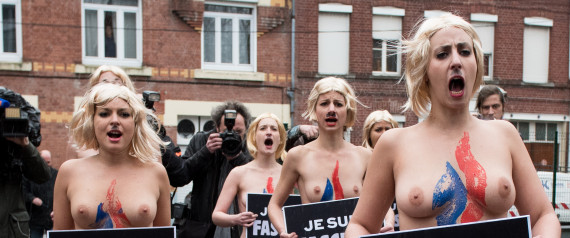 FEMEN HENIN BEAUMONT