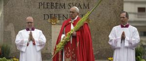 PALM SUNDAY POPE