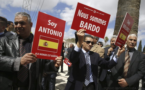 manifestacion tunez