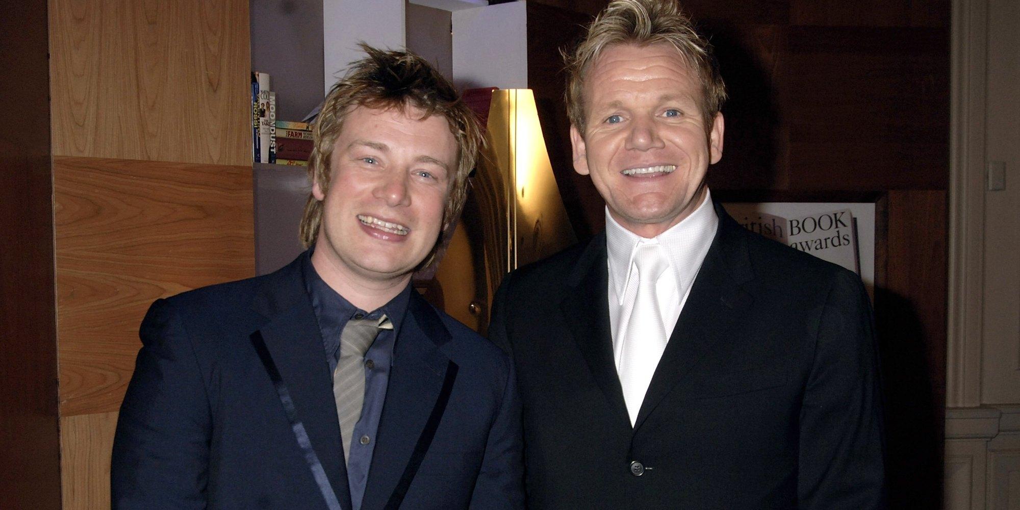 Jamie Oliver Slams Deeply Jealous Rival Gordon Ramsay
