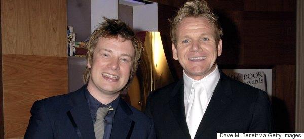 Jamie Oliver Slams 'Jealous' Rival Gordon Ramsay