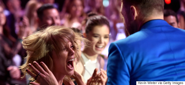 Taylor Reacts To 'Blank Space' Award Win In A Wonderfully OTT Way