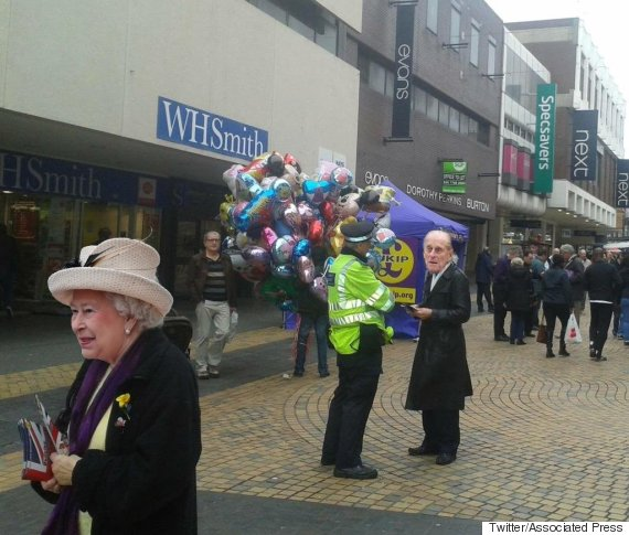 queen campaigning for ukip bromley