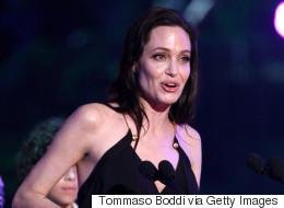 Angelina Gives Inspiring Speech At Kids' Choice Awards