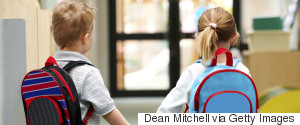 CHILD WALK TO SCHOOL BACKPACK
