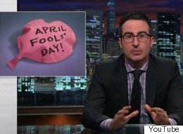 John Oliver Wants Us All To Take A 'No Prank Pledge' This April Fool's Day