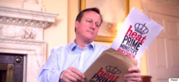 Cameron: 'I'd Like To Say I Stripped Down To The Waist'