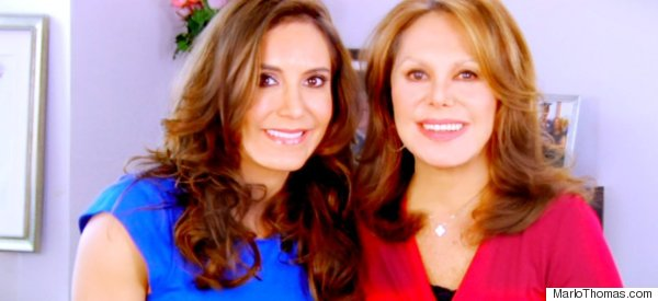 Marlo Thomas With Amy Laurent (VIDEO)
