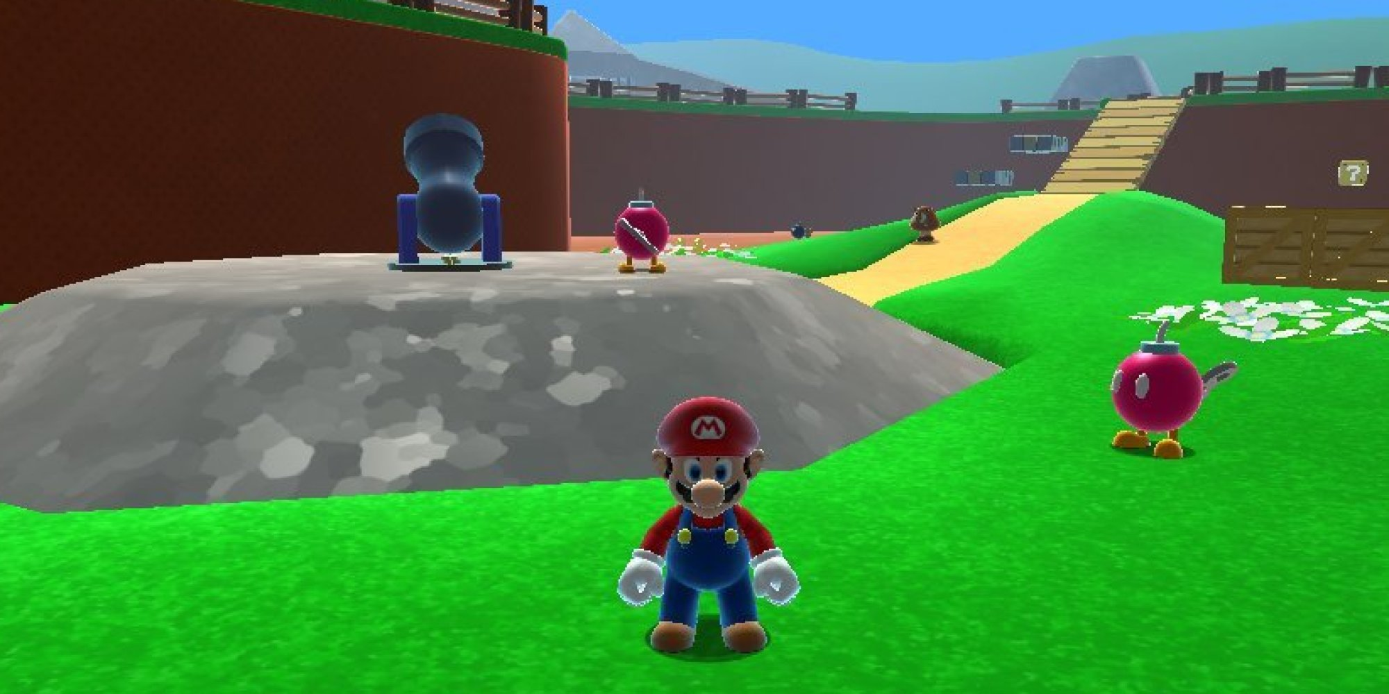 Here Can Super Mario 64 Online – Fondos de Pantalla