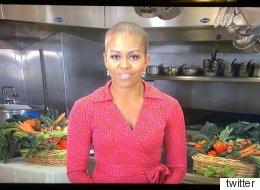 ¿Por qué el <i>look</i> de calva de Michelle Obama?