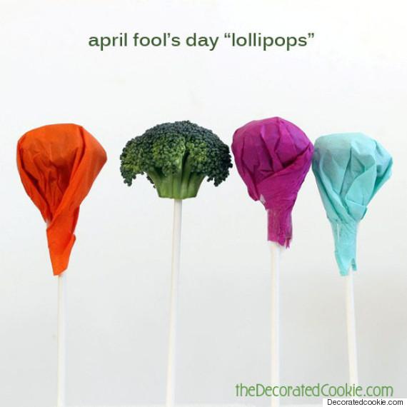 broccoli lollipop