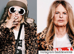 Coolest Granny On Instagram Transforms Into Kate Moss And Kurt Cobain