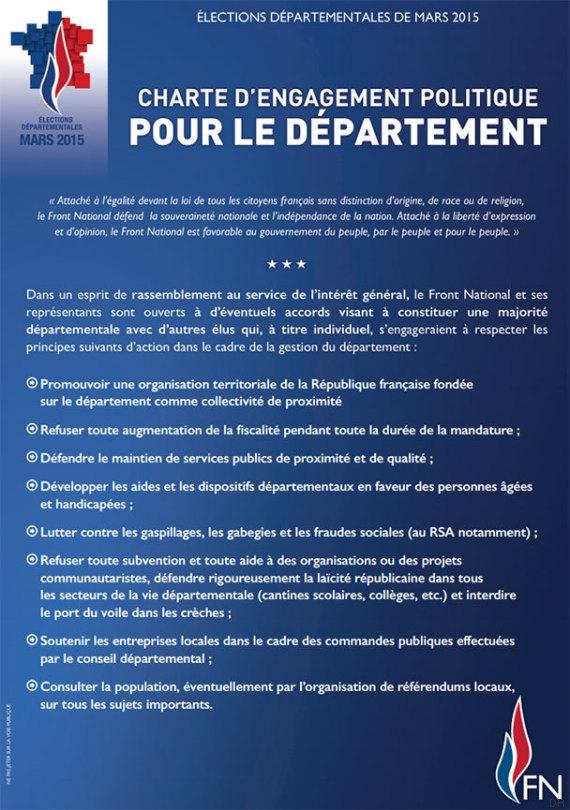 charte departementale