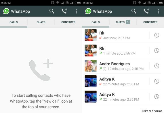 whatsapp calls