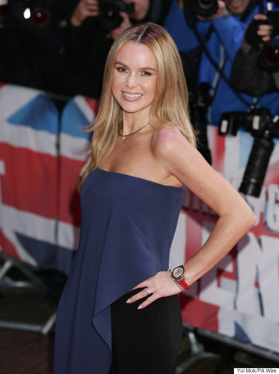 amanda holden hot legs