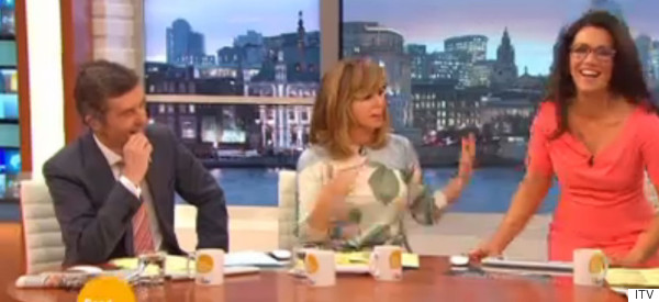 Susanna Handles Live TV Wardrobe Malfunction Like A Pro