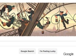Eiffel Tower Opening Date Commemorated By Google Doodle