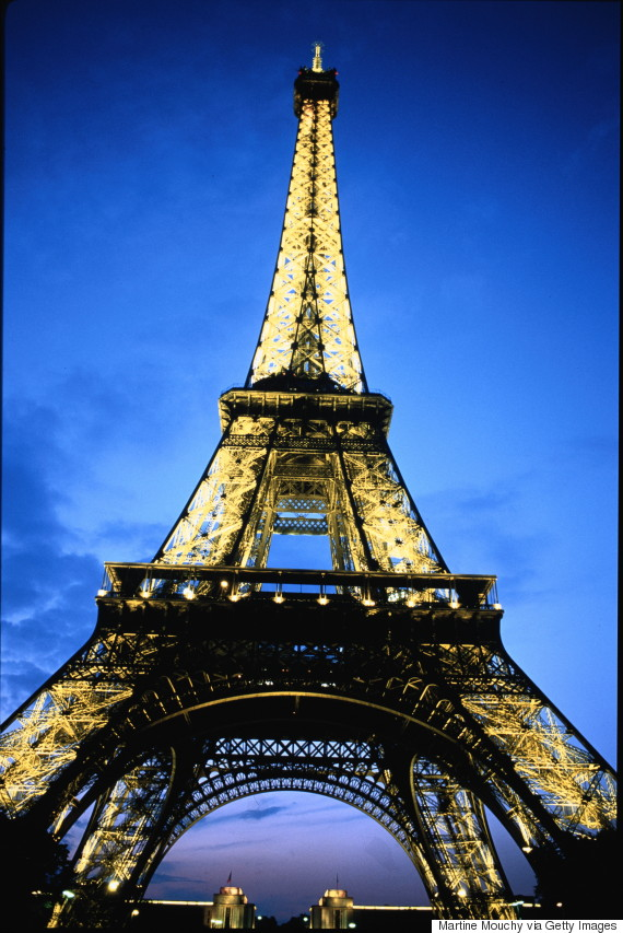 WHEN DID THE EIFFEL TOWER OPEN TO THE PUBLIC?